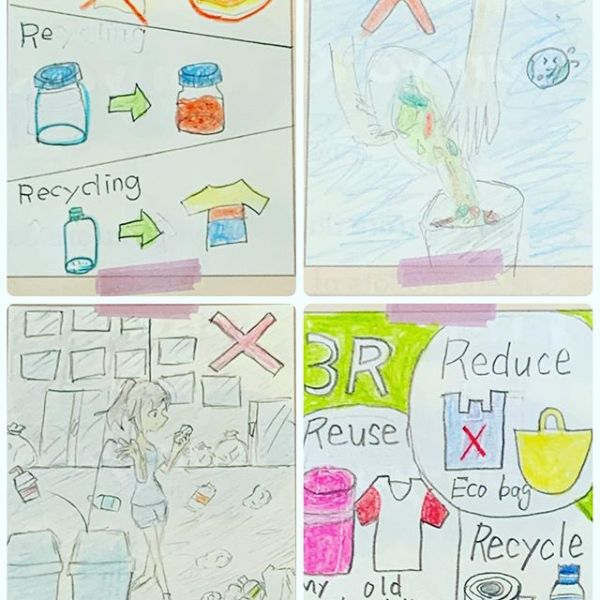 3R(reduce reuse recycle)